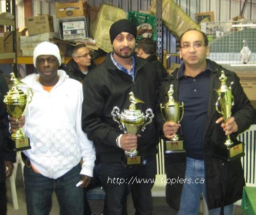 Awards at January 2011 AGM