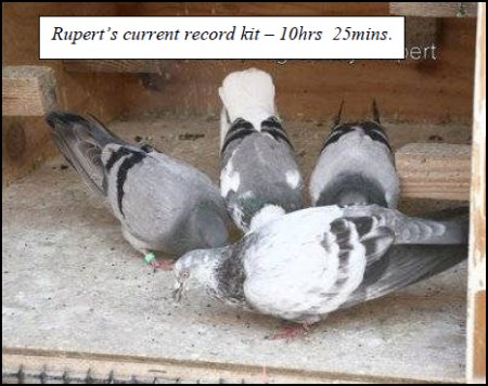 Rupert's current record kit – 10hrs 25mins.
